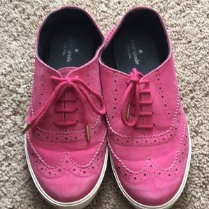 Kate spade 7.5 pink tennis shoes